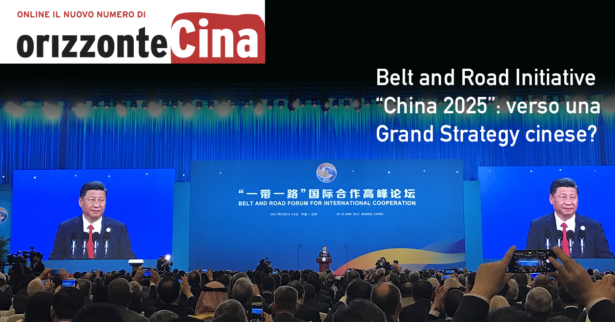 Orizzonte Cina Vol. 8, N. 2
