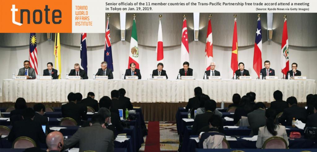 From the TPP 12 to the TPP 11 and competition with the RCEP